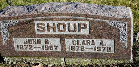 SHOUP, JOHN B - Richland County, Ohio | JOHN B SHOUP - Ohio Gravestone Photos