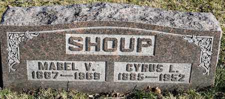 SHOUP, MABEL V - Richland County, Ohio   MABEL V SHOUP - Ohio Gravestone Photos