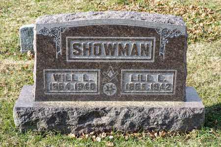 SHOWMAN, LILL L - Richland County, Ohio | LILL L SHOWMAN - Ohio Gravestone Photos
