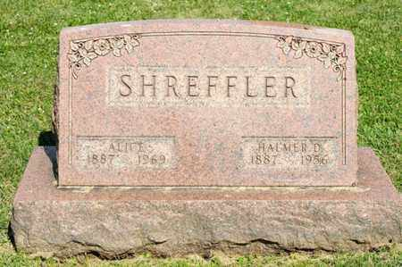 SHREFFLER, HALMER D - Richland County, Ohio | HALMER D SHREFFLER - Ohio Gravestone Photos