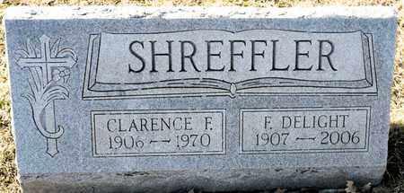 SHREFFLER, CLARENCE F - Richland County, Ohio | CLARENCE F SHREFFLER - Ohio Gravestone Photos