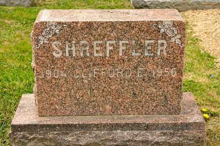SHREFFLER, CLIFFORD E - Richland County, Ohio | CLIFFORD E SHREFFLER - Ohio Gravestone Photos