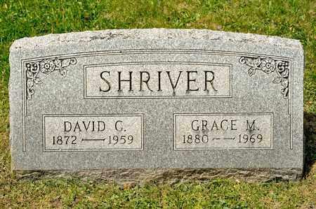 SHRIVER, DAVID C - Richland County, Ohio | DAVID C SHRIVER - Ohio Gravestone Photos