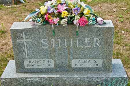 SHULER, ALMA S - Richland County, Ohio | ALMA S SHULER - Ohio Gravestone Photos