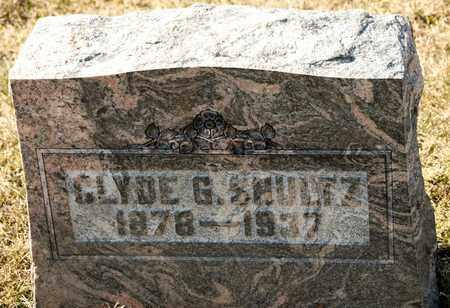 SHULTZ, CLYDE G - Richland County, Ohio | CLYDE G SHULTZ - Ohio Gravestone Photos
