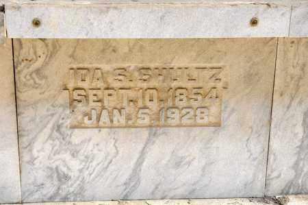 SHULTZ, IDA S - Richland County, Ohio | IDA S SHULTZ - Ohio Gravestone Photos
