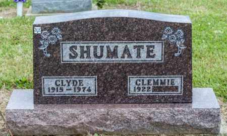 SHUMATE, CLYDE - Richland County, Ohio   CLYDE SHUMATE - Ohio Gravestone Photos