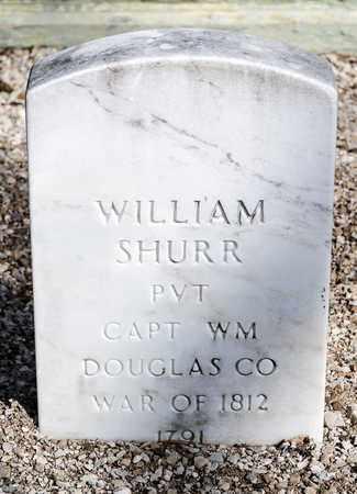 SHURR, WILLIAM - Richland County, Ohio | WILLIAM SHURR - Ohio Gravestone Photos