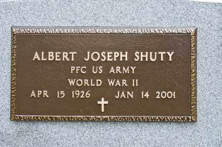 SHUTY, ALBERT JOSEPH - Richland County, Ohio | ALBERT JOSEPH SHUTY - Ohio Gravestone Photos