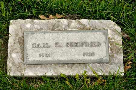 SIEGFRIED, CARL E - Richland County, Ohio | CARL E SIEGFRIED - Ohio Gravestone Photos