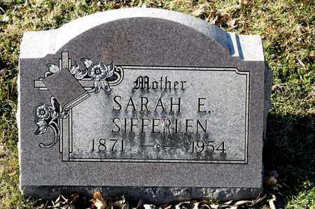 SIFFERLEN, SARAH E - Richland County, Ohio | SARAH E SIFFERLEN - Ohio Gravestone Photos