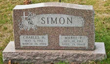 SIMON, MABEL P - Richland County, Ohio | MABEL P SIMON - Ohio Gravestone Photos