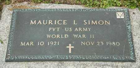SIMON, MAURICE L - Richland County, Ohio | MAURICE L SIMON - Ohio Gravestone Photos