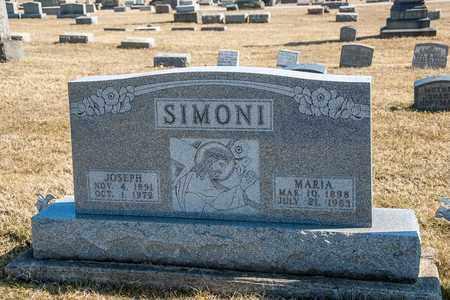 SIMONI, JOSEPH - Richland County, Ohio | JOSEPH SIMONI - Ohio Gravestone Photos