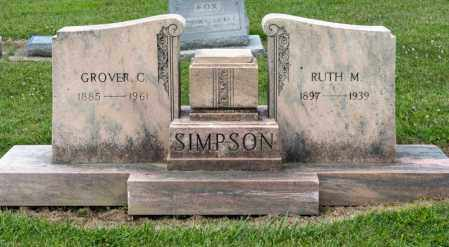 SIMPSON, GROVER C - Richland County, Ohio | GROVER C SIMPSON - Ohio Gravestone Photos