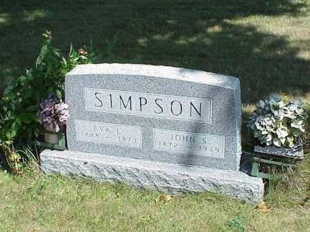 SIMPSON, EVA L. - Richland County, Ohio | EVA L. SIMPSON - Ohio Gravestone Photos