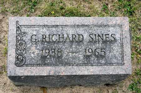 SINES, G RICHARD - Richland County, Ohio | G RICHARD SINES - Ohio Gravestone Photos