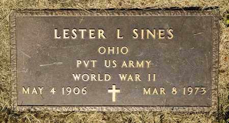 SINES, LESTER L - Richland County, Ohio | LESTER L SINES - Ohio Gravestone Photos