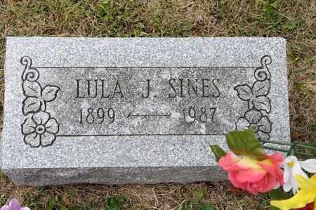 SINES, LULA J - Richland County, Ohio   LULA J SINES - Ohio Gravestone Photos