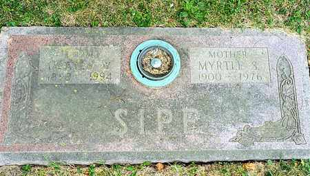 SIPE, DEXTER W - Richland County, Ohio | DEXTER W SIPE - Ohio Gravestone Photos