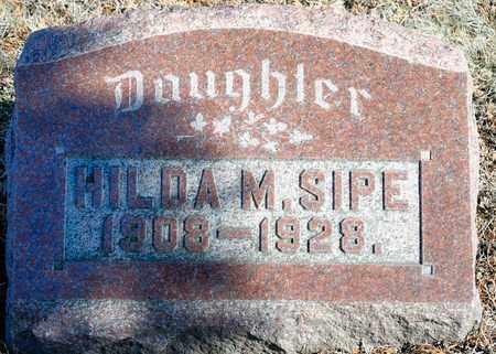 SIPE, HILDA M - Richland County, Ohio | HILDA M SIPE - Ohio Gravestone Photos
