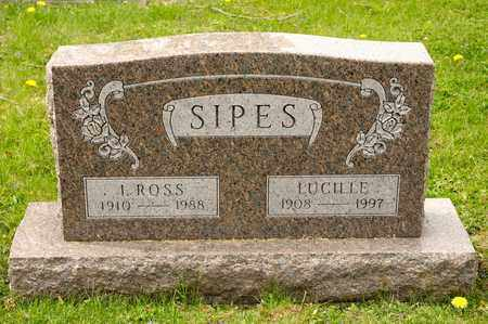 SIPES, LUCILLE - Richland County, Ohio | LUCILLE SIPES - Ohio Gravestone Photos