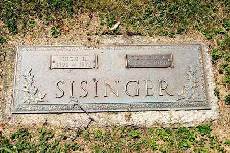 SISINGER, GEORGIA A - Richland County, Ohio | GEORGIA A SISINGER - Ohio Gravestone Photos