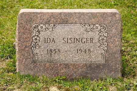 SISINGER, IDA - Richland County, Ohio   IDA SISINGER - Ohio Gravestone Photos