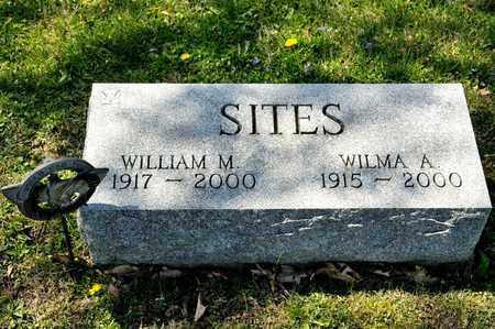 SITES, WILLIAM M - Richland County, Ohio | WILLIAM M SITES - Ohio Gravestone Photos