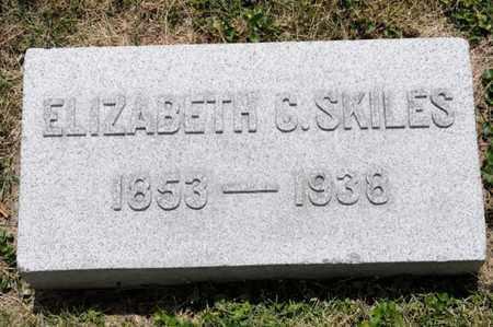 SKILES, ELIZABETH C - Richland County, Ohio   ELIZABETH C SKILES - Ohio Gravestone Photos