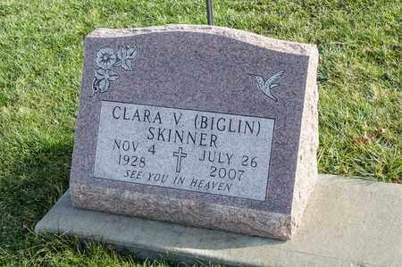 SKINNER, CLARA V - Richland County, Ohio | CLARA V SKINNER - Ohio Gravestone Photos