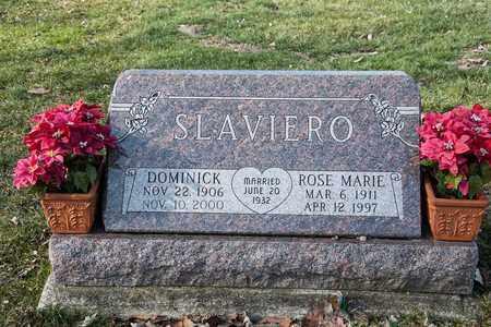 SLAVIERO, DOMINICK - Richland County, Ohio | DOMINICK SLAVIERO - Ohio Gravestone Photos