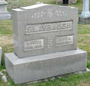 SLAYBAUGH, D BRUCE - Richland County, Ohio | D BRUCE SLAYBAUGH - Ohio Gravestone Photos