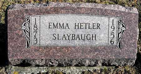 SLAYBAUGH, EMMA - Richland County, Ohio | EMMA SLAYBAUGH - Ohio Gravestone Photos
