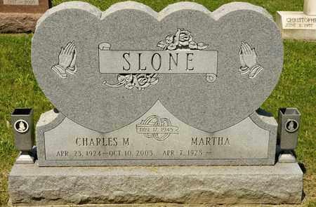 SLONE, CHARLES M - Richland County, Ohio | CHARLES M SLONE - Ohio Gravestone Photos