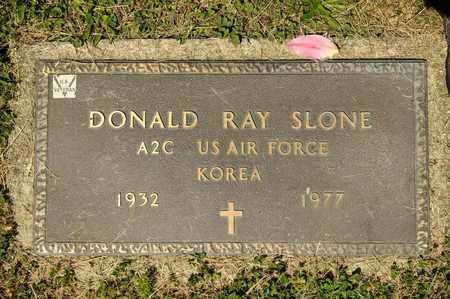 SLONE, DONALD RAY - Richland County, Ohio   DONALD RAY SLONE - Ohio Gravestone Photos