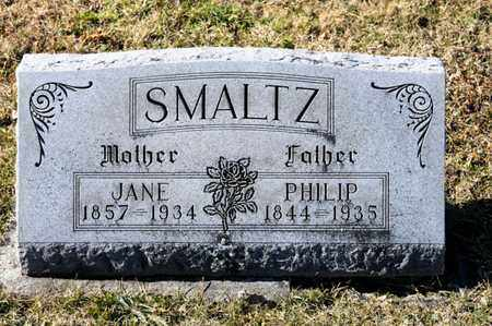 SMALTZ, JANE - Richland County, Ohio | JANE SMALTZ - Ohio Gravestone Photos