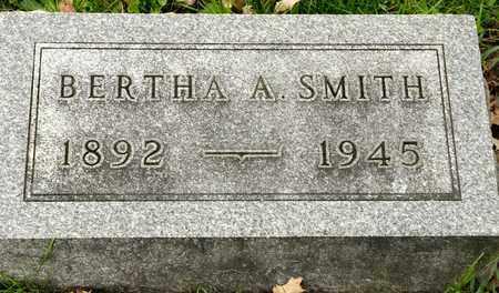 SMITH, BERTHA A - Richland County, Ohio   BERTHA A SMITH - Ohio Gravestone Photos
