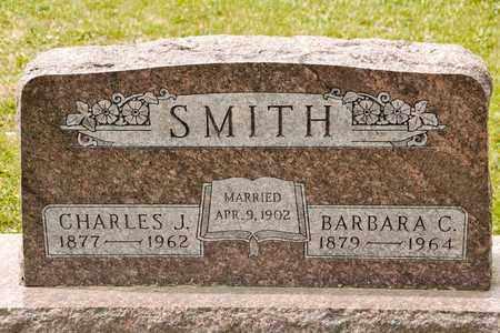 SMITH, CHARLES J - Richland County, Ohio | CHARLES J SMITH - Ohio Gravestone Photos