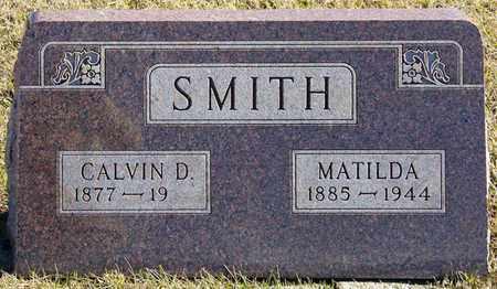 SMITH, CALVIN D - Richland County, Ohio | CALVIN D SMITH - Ohio Gravestone Photos