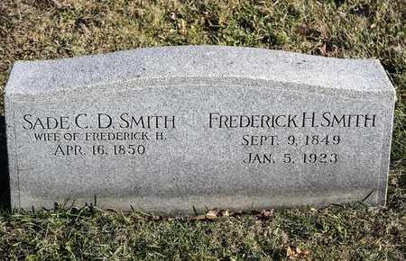 SMITH, FREDERICK H - Richland County, Ohio   FREDERICK H SMITH - Ohio Gravestone Photos