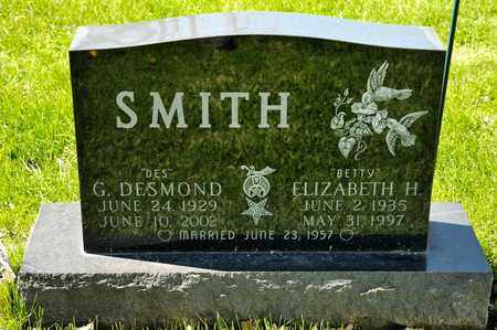 SMITH, ELIZABETH H - Richland County, Ohio | ELIZABETH H SMITH - Ohio Gravestone Photos