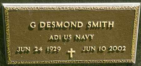 SMITH, G DESMOND - Richland County, Ohio   G DESMOND SMITH - Ohio Gravestone Photos
