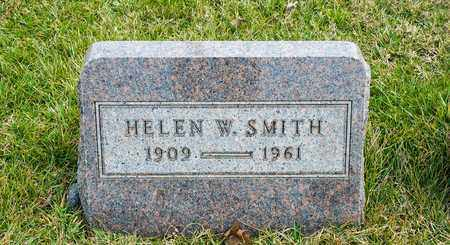 SMITH, HELEN W - Richland County, Ohio | HELEN W SMITH - Ohio Gravestone Photos