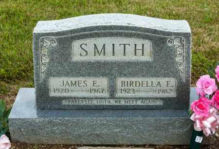 SMITH, JAMES E - Richland County, Ohio | JAMES E SMITH - Ohio Gravestone Photos