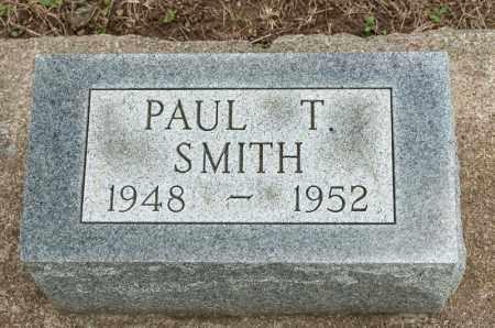 SMITH, PAUL T - Richland County, Ohio | PAUL T SMITH - Ohio Gravestone Photos