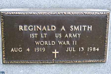 SMITH, REGINALD A - Richland County, Ohio   REGINALD A SMITH - Ohio Gravestone Photos