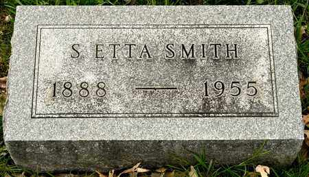 SMITH, S ETTA - Richland County, Ohio | S ETTA SMITH - Ohio Gravestone Photos