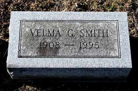 SMITH, VELMA G - Richland County, Ohio | VELMA G SMITH - Ohio Gravestone Photos