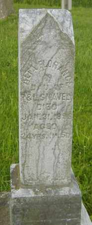 SNAVELY, ALTA FLORENCE - Richland County, Ohio   ALTA FLORENCE SNAVELY - Ohio Gravestone Photos